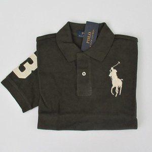 Ralph Lauren SS Olive Green Big Pony Polo Shirt